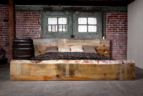 District Millworks Modern Rustic Furniture Knoed Creative Blog