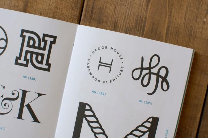 News monogram logo book knoed creative blog for Monogram homes floor plans